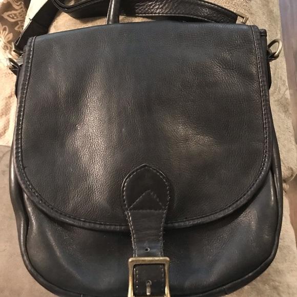 Hobo International Handbags - Hobo International Black Leather Backpack Handbag